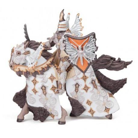 Guerrier papillon et son cheval