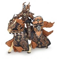 Guerrier araignée noire et son cheval retraité