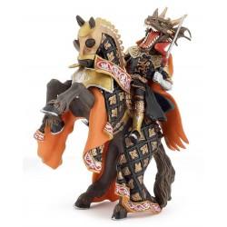 Cheval de l'homme dragon de feu