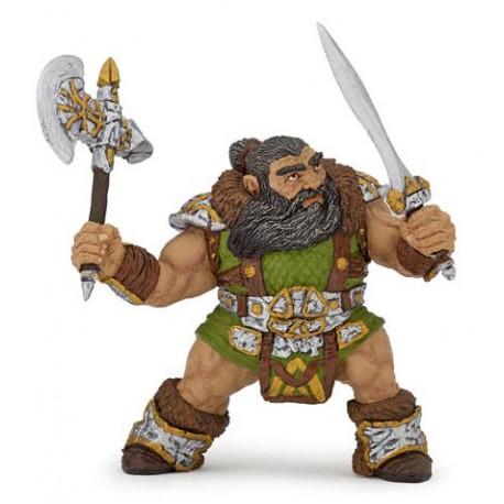 Dwarf Warrior With Axe