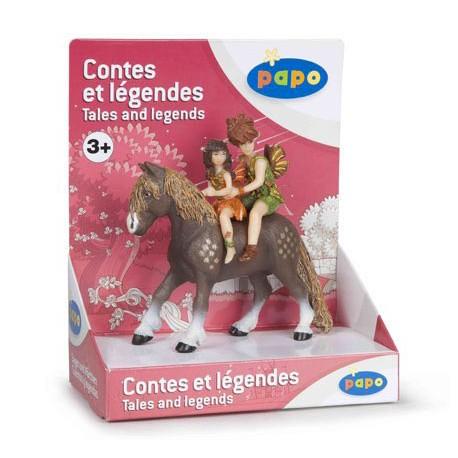 Coffret poney et enfants elfes