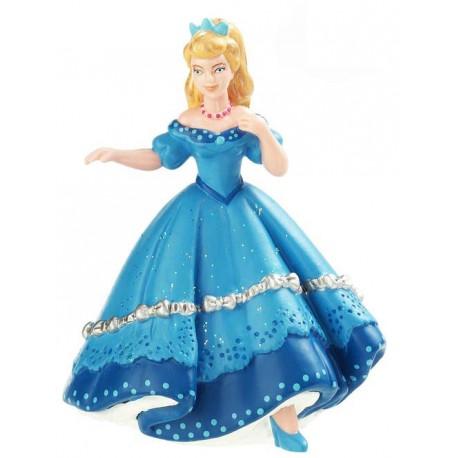 Princesse au bal bleue
