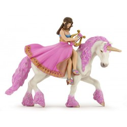 Princess with Lyre on her horse