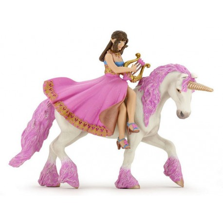 with Lyre on her horse