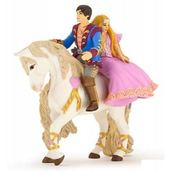 Prince And Princess On Horse***