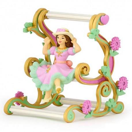 Princess On Swing Chair***