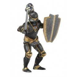 Chevalier noir en armure