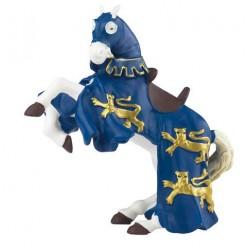 Cheval du Roi Richard bleu