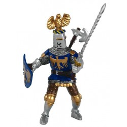 Blue crested knight