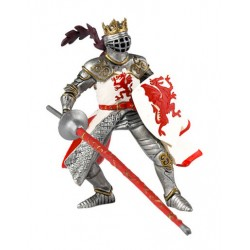 Roi au dragon rouge