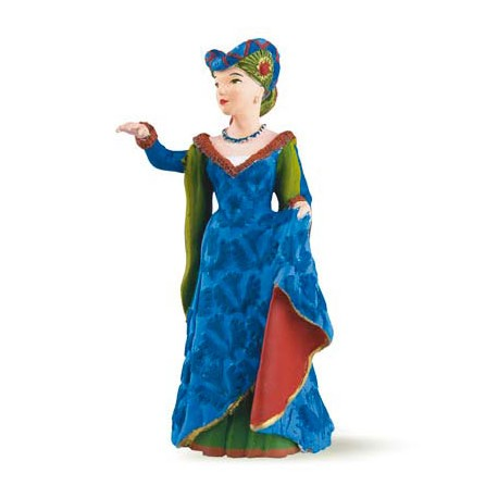 Blue medieval fair lady***