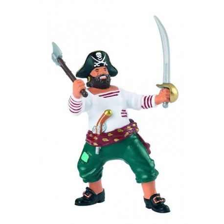 Pirate with axe