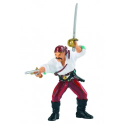Pirate with gun