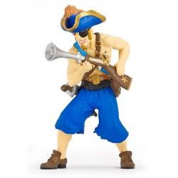 Pirate à l'escopette retraité