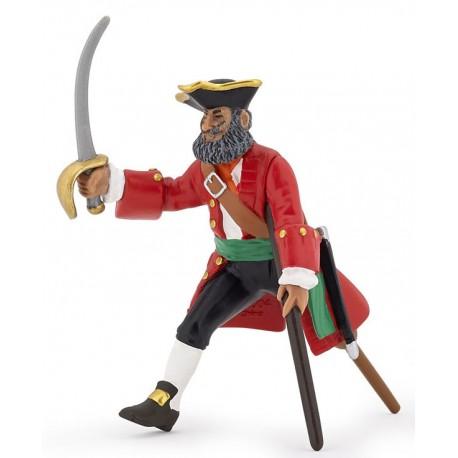 Capitaine Jambe de bois rouge