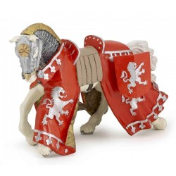 Cheval du prince richard rouge retraité