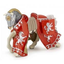 Cheval du prince richard rouge