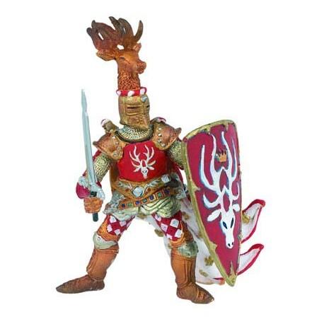 Maître des armes cimier cerf rouge