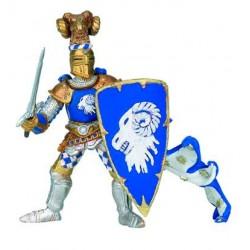 Maître des armes cimier bélier bleu