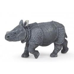 Indian rhinoceros calf