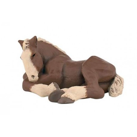 foal, lying Discontinué/Discontinued