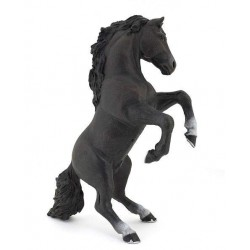 Cheval cabré noir