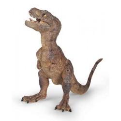 Bébé t-rex marron