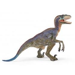 Vélociraptor bleu retraité