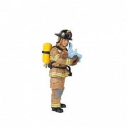 YELLOW U.S. FIREMAN WITH BABY