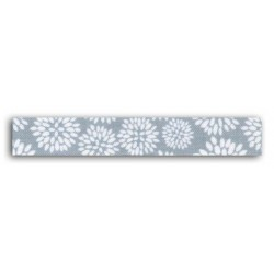 ADHESIVE FABRIC RIBBON 5M - DANDELION BLUE