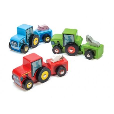 Petits Tracteurs (9 unités)