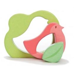 Puzzle 3 pièces - Oiseau