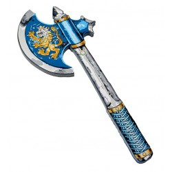 Masse bleue, chevalier noble bleu