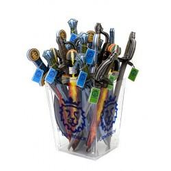 50 Sceau en Acrylique pour Épées - bleu