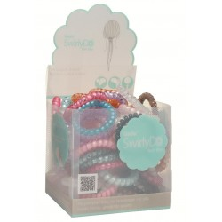 Big swirlyDo hair ties of 72 units   (1) Bright