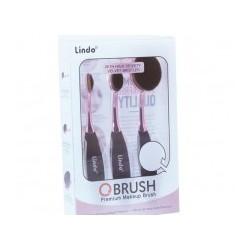 Q Brush - Trio set