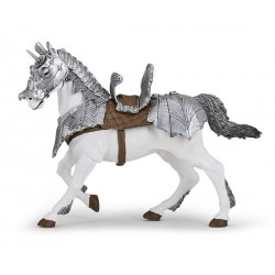Horse in armour