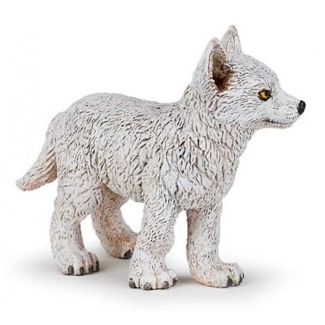 Jeune loup polaire