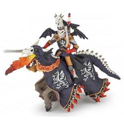 Guerrier dragon et son cheval retraité
