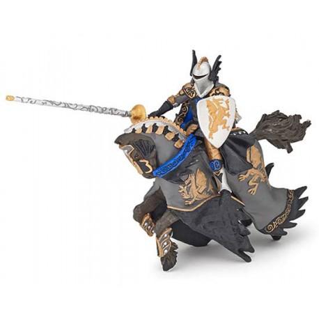 Prince noir au dragon et son cheval***