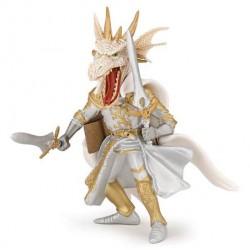 Homme dragon blanc retraité