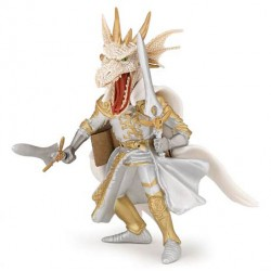 Homme dragon blanc