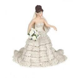 White bride lace