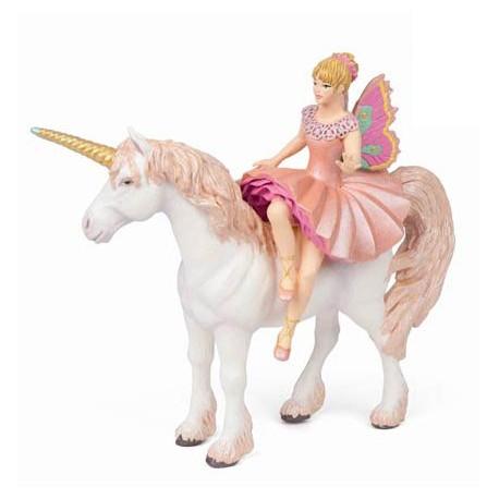 Elf ballerina and her unicorn