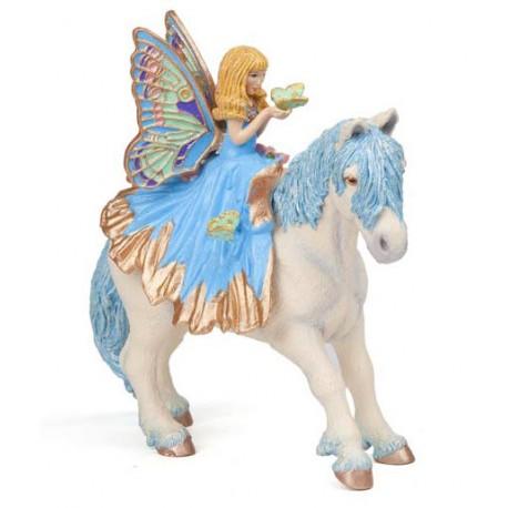 Blue fairy pony