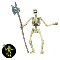 Squelette (brille dans l'obscurité)