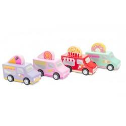 Camionettes de Friandises
